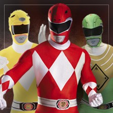 Costumi Power Rangers