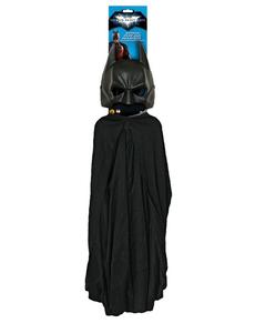 Kit Batman adulto Maschera e Mantello