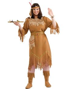 Costume da indiana taglia grande
