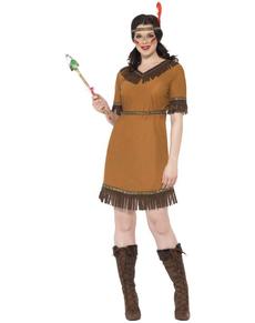 Costume ragazza indiana