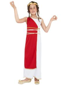 Costume greca classica da bambina