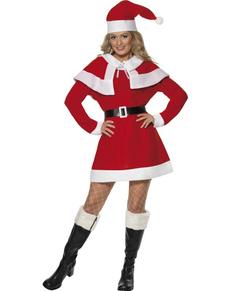 Costume da Miss Mamma Natale del circolo polare