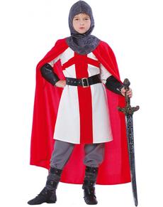 Costume da guerriero delle crociate per bambino