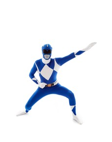 Costume Power Ranger Blu Morphsuit