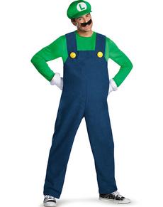 Costume Luigi prestige adulto