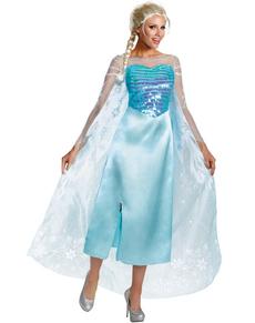 Costume da Elsa Frozen deluxe da donna