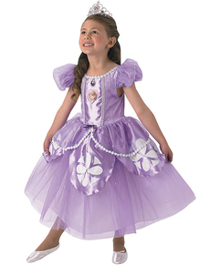 Costume da Principessa Sofia premium da bambina