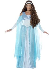 Costume da fanciulla medievale donna