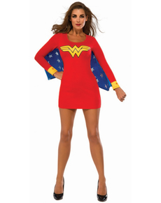 Vestito costume Wonder Woman donna