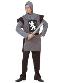 Costume da guerriero medievale da uomo