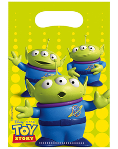 Set 6 sacchetti Toy Story Star Power