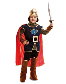 Costume da re cavaliere per bambino