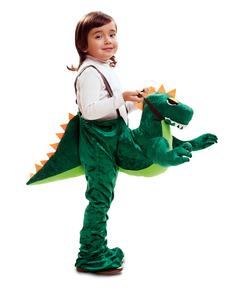 Costume da dinosauro sorridente per bambino