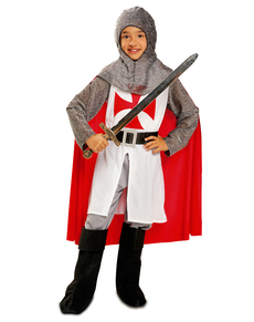 Costume da templare guerriero per bambino