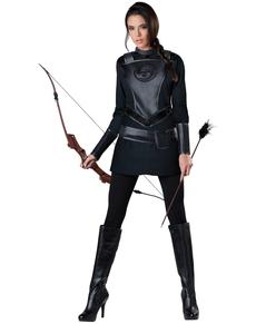 Costume da arciere impavido per donna