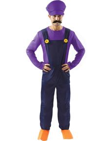 Costume da idraulico misterioso per adulto