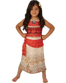 Costume Vaiana Oceania deluxe per bambina