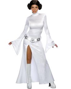 Costume Principessa Leila bianca sexy