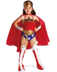 Costume Wonder Woman da bambina