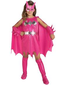 Costume Batgirl rosa da bambina